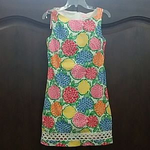 Lilly Pulitzer size 2 floral a line shift dress